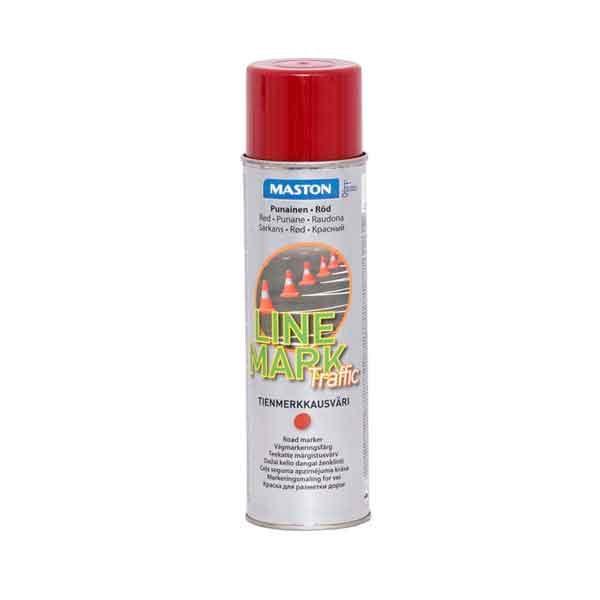 Maston Linemark Teekatte märgistusvärv Punane