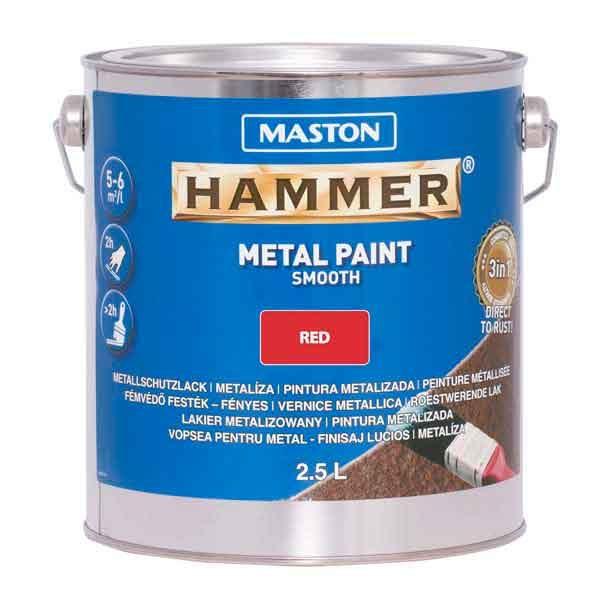 Maston Hammer Sile Punane