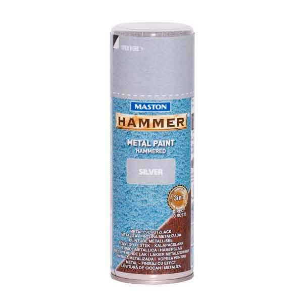 Maston Hammer Vasardatud Spray Hõbe