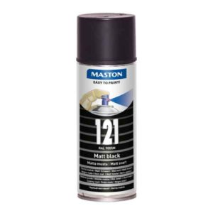Maston 100 - RAL 9005 Must matt