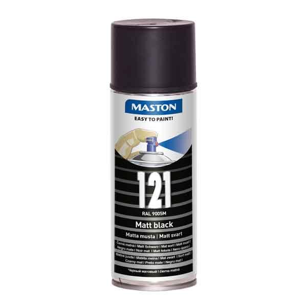 Maston 100 - RAL 9005 Must matt